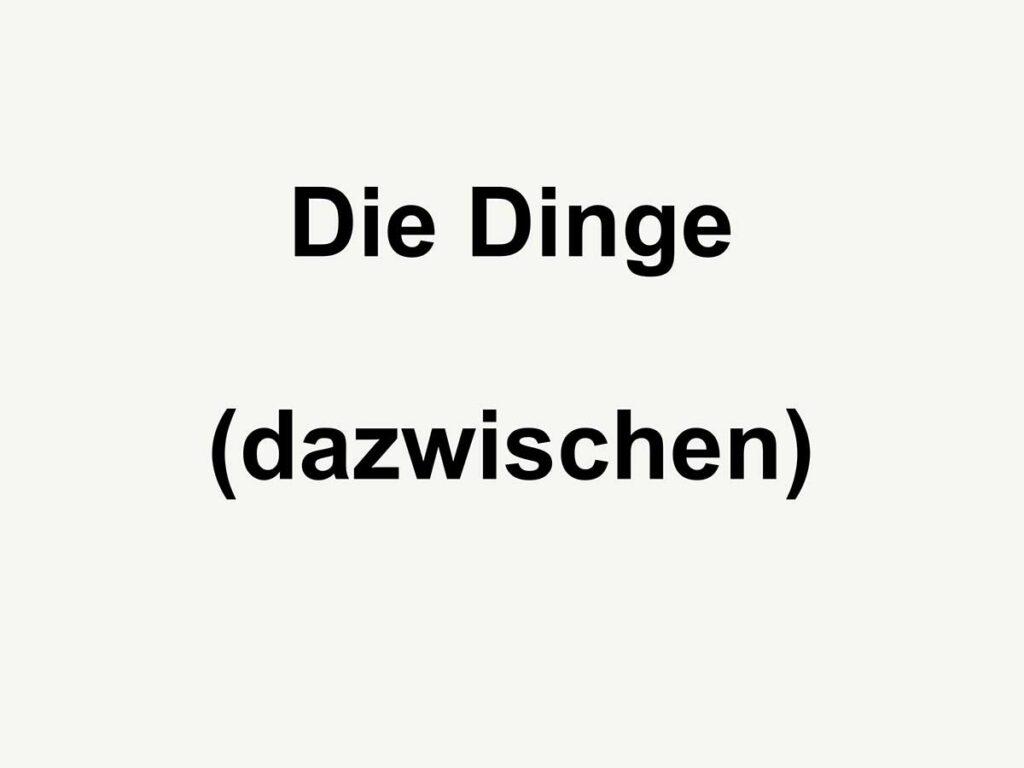 12_Dinge