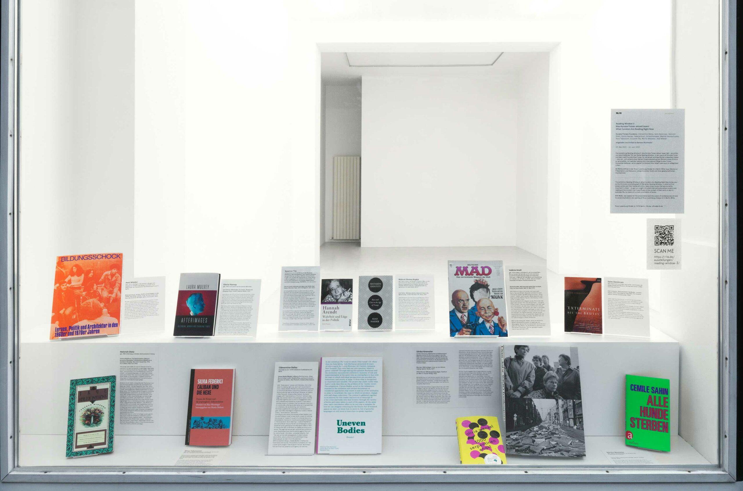 Ausstellungsansicht, Foto: Jens Ziehe